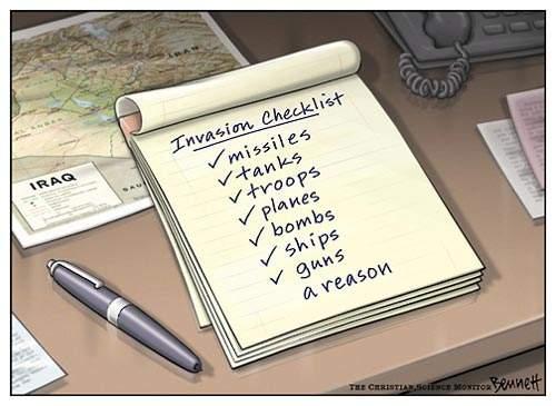 IraqWarChecklist